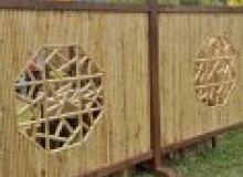 Kwikfynd Bamboo fencing airville
