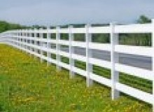 Kwikfynd Pvc fencing airville